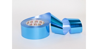 "PP METALLIC RIBBON ""WITHOUT PATTERN - PLAIN"""