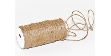 JUTE TWINE (CORD) WITHOUT WIRE 3mm/20m