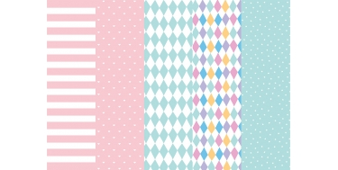 """DECORATIVE CORRUGATED WRAPPING PAPER WITH """"HEARTS"""" PATTERN"""