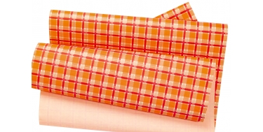 """DECORATIVE CORRUGATED WRAPPING PAPER WITH """"ROSES"""" PATTERN"""