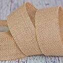 Wstążki i materiały - juta, len